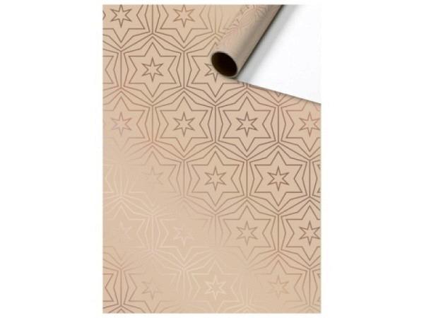 Geschenkpapier Caspari Cupcakes 50x70cm, viele bunte Cupcakes mit schönen Dekorationen auf weissem Hintergrund