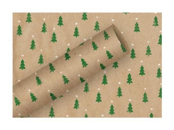 Geschenkpapier Braun&Company Tiny Trees 70cmx2m