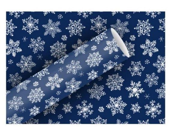 Geschenkpapier Braun&Company Snow Crystals 70cmx2m