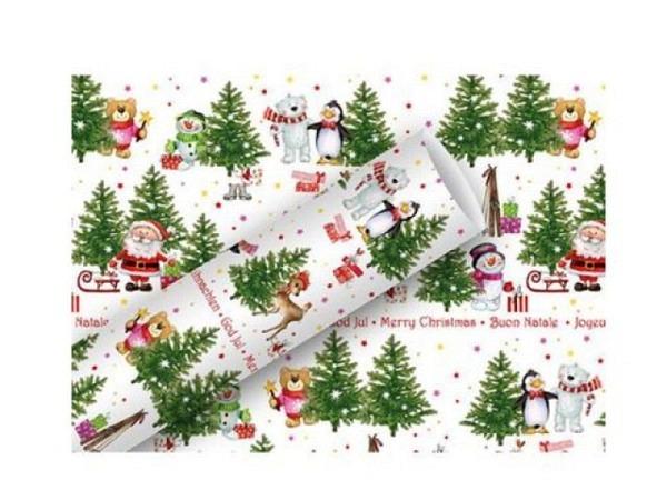 Geschenkpapier Braun&Company Wintertreffen 70cmx2m