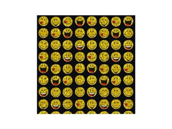 Geschenkpapier bsb Smileys, 70x150cm