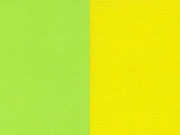 Geschenkpapier Rotolux unicolor white Kraft green/yellow