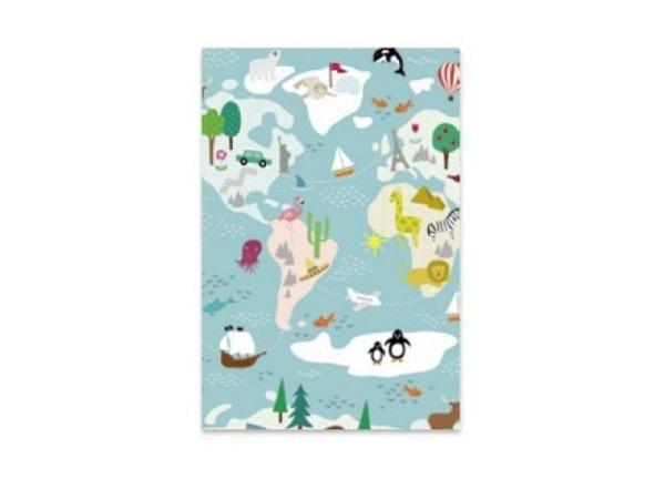 Geschenkpapier Stewo Terra mit bunten Kindermotiven