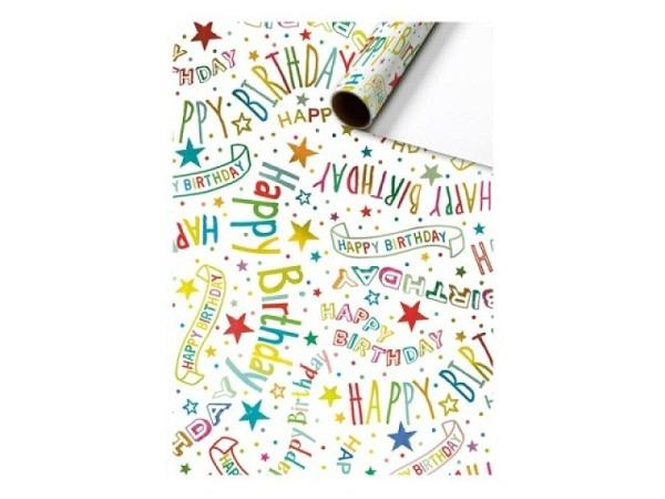 Geschenkpapier Tiere Winterlandschaft 70cmx3m