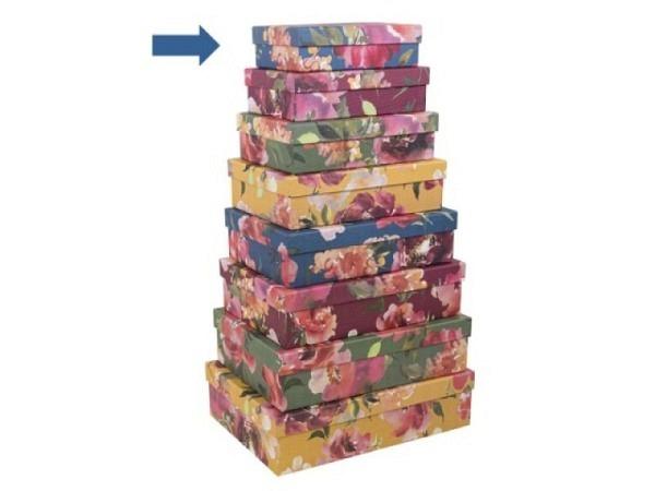 Geschenkschachtel Artebene Colours Kreise Grösse 1: 18x12,5x5cm