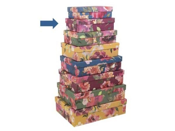 Geschenkschachtel Artebene Colours Dots Grösse 2: 20x13,5x5,5cm
