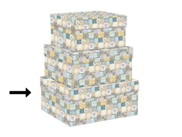 Geschenkschachtel Kartos Cipro 12x14,5x6cm Aussenmasse