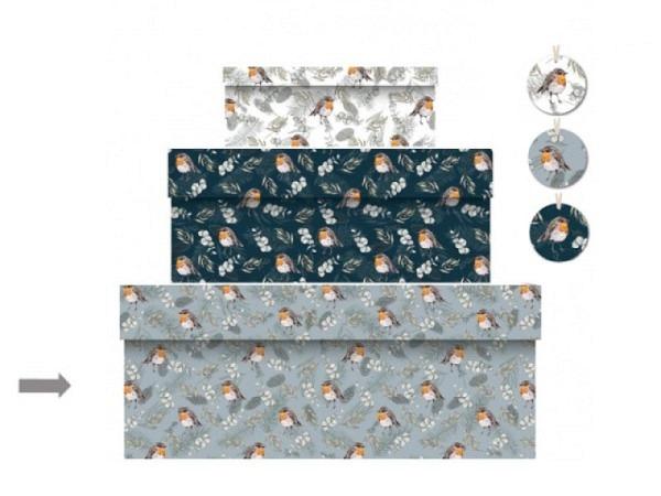 Geschenkschachtel Kartos Cipro 16,5x24,5x7,5cm Aussenmasse