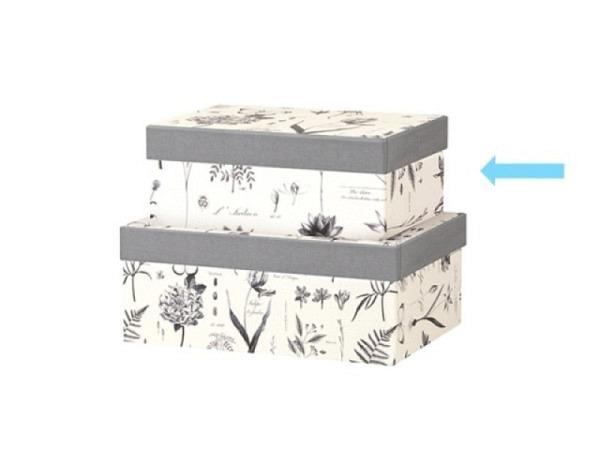 Geschenkschachtel Kartos Cipro 23,5x35,5x9,5cm Aussenmasse