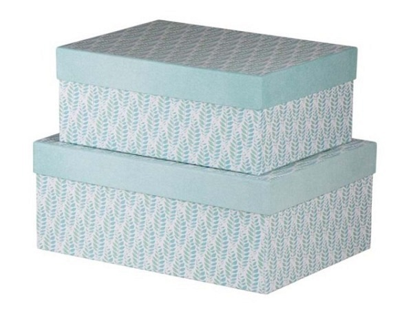 Geschenkschachtel Flamingo Summer rund Grösse 2