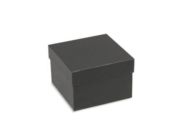 Geschenkschachtel schwarz Stulp ca. 8,5x8,5x6cm
