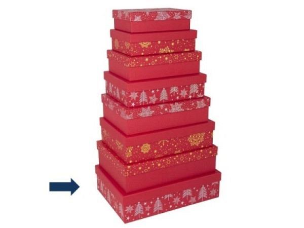 Geschenkschachtel Artebene Uni Bunt hellgrün 32x22,5x9cm