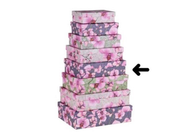 Geschenkschachtel Artebene Kraftpapier Pastell pink 32x22,5cm