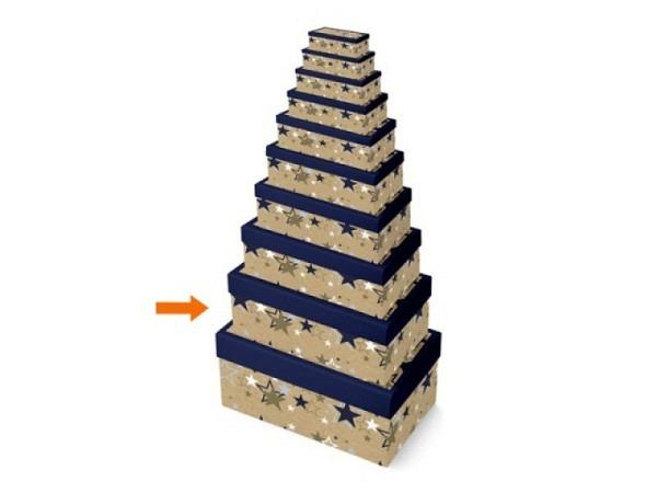 Geschenkschachtel Papagei 12,5x18,5x7cm