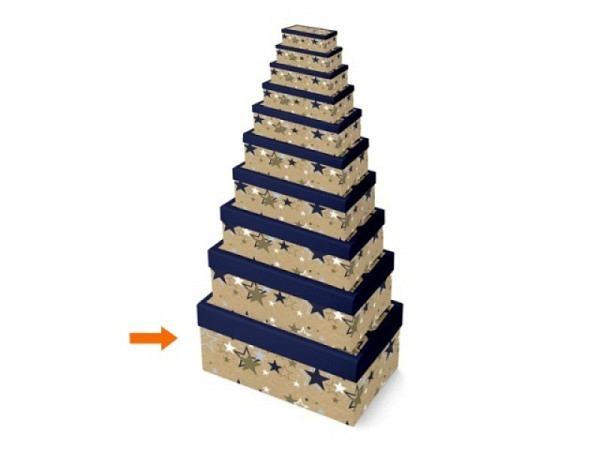 Geschenkschachtel Papagei 10,5x17x6,5cm