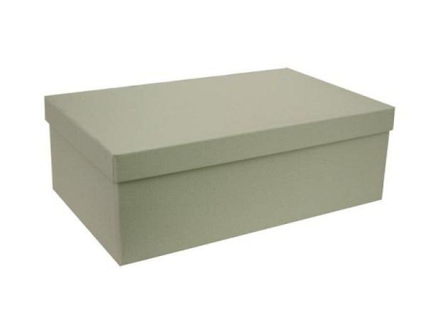 Geschenkschachtel Artoz Pure Box rechteckig L Green Line birch
