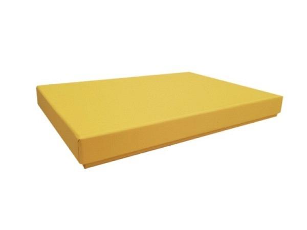 Geschenkschachtel Artoz Pure Box A5 1001 sonnengelb