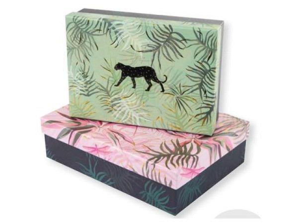 Geschenkschachtel Goldbuch Turnowsky Jungle Vibes Grösse 2: 18,5x22x7 cm