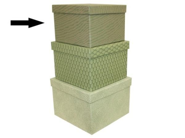Geschenkschachtel Artoz Pure Box A4 chamois 30,7x22x0,5cm, innen weiss