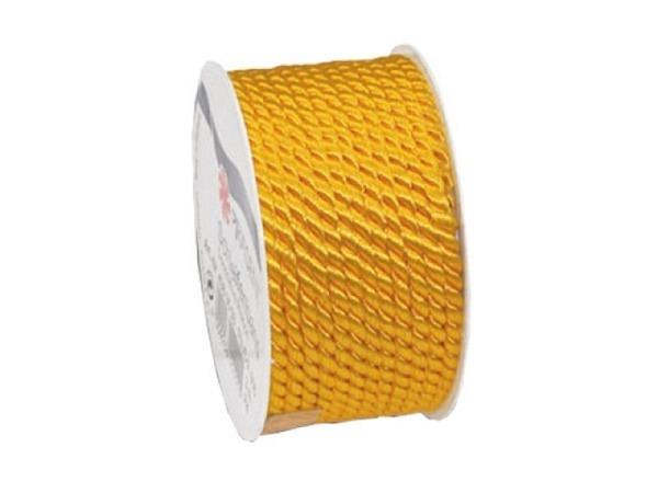 Geschenkband Präsent Mosel gelb, Kordel 5mmx3m