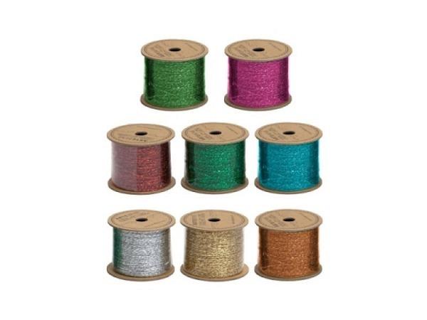 Geschenkband Artebene Kordel metallic farbig sortiert 25m