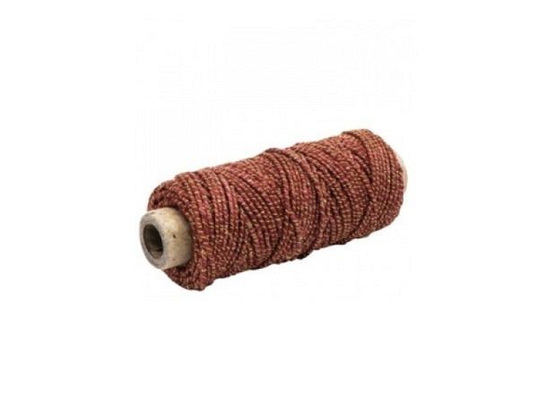 Geschenkband Präsent Mosel rot, Kordel 5mmx3m