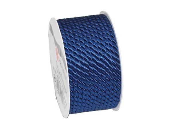 Geschenkband Präsent Mosel dunkelblau, Kordel 5mmx3m