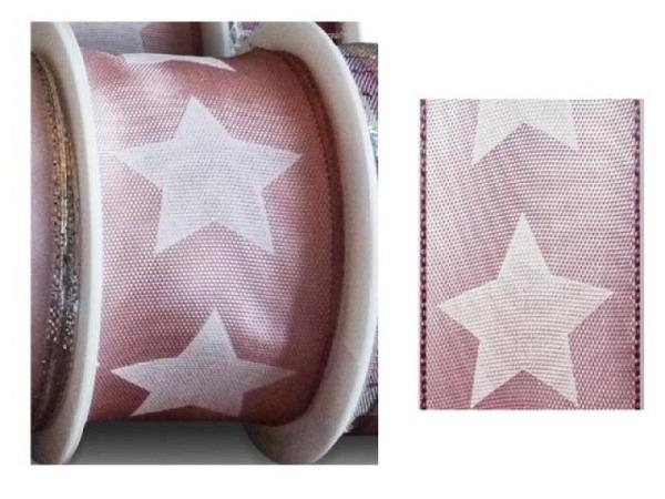 Geschenkband altrosa Big Star 40mmx2m