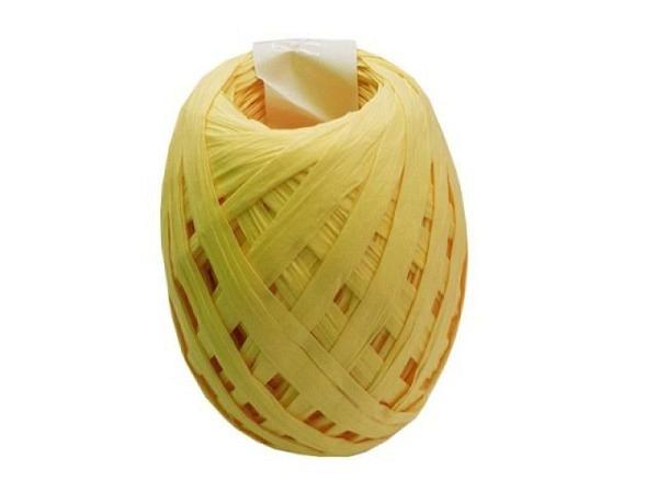 Geschenkband Artebene Kreppband Gelb 10mmx45m