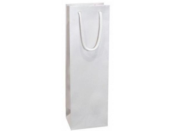 Flaschentasche Artoz Pure Vine Bag weiss, 37x11,5x9cm