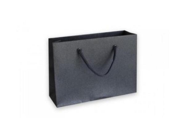 Geschenksack Artoz Pure Bag M Nordana black glow, 27x20x11cm