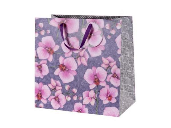 Geschenksack Artebene Finest Sonnenstern weiss-gold 32,5x37x11cm