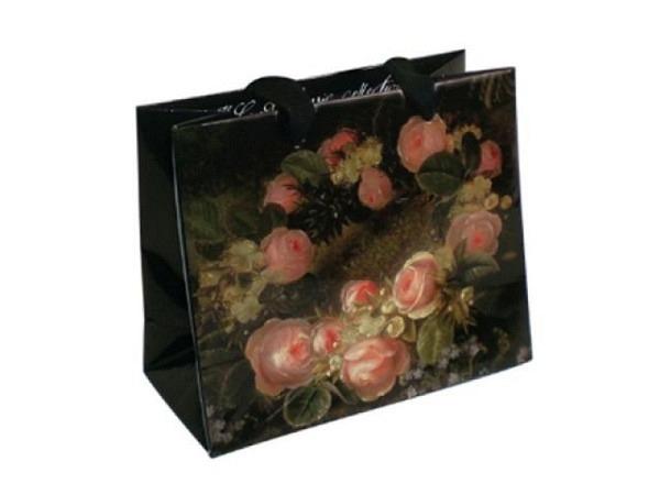 Geschenksack Rotolux Uni silber 16x27cm, mit Seitenfalt 8cm