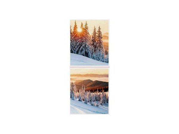 Geschenksanhänger ABC Holz-Elch 6er Set 10x5cm