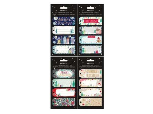 Geschenksanhänger Artebene Mini Christmas Time 4er Set