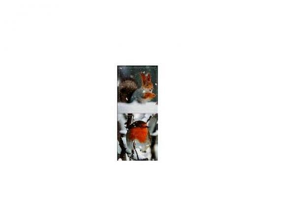Geschenksanhänger ABC 4er Set Weihnachtskerzen 5,5x6x5cm