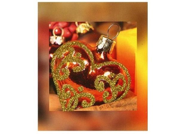 Geschenksanhänger ABC Herzanhänger, kleine Anhängerkarte
