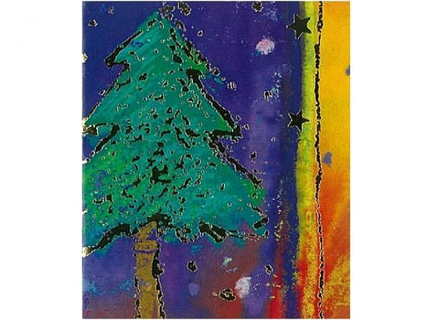 Geschenksanhänger ABC Weihnachtsbaum