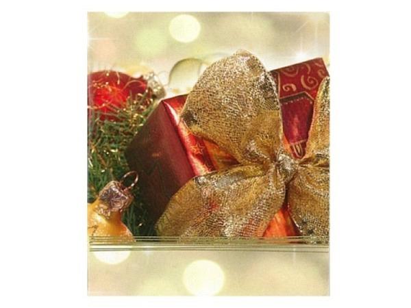 Geschenksanhänger ABC Geschenk, kleine Anhängerkarte