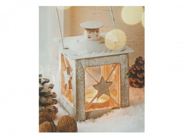 Geschenksanhänger ABC Windlichter 4er Set 5,5x6,5cm