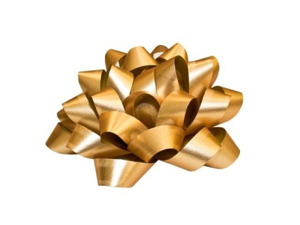 Geschenkmaschen Präsent Dallas gold matt