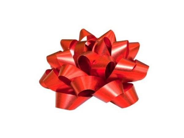 Geschenkmaschen Präsent Dallas rot matt