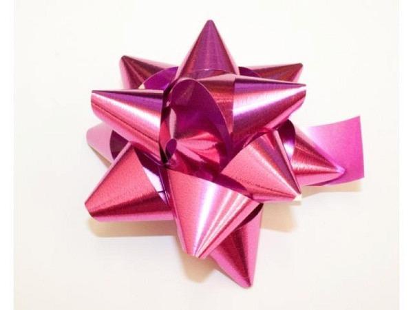 Geschenkmaschen Star Metal Unito pink