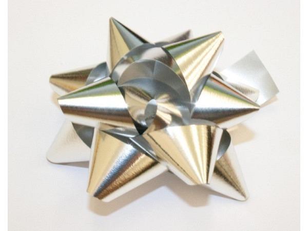 Geschenkmaschen Star Metal Unito silber