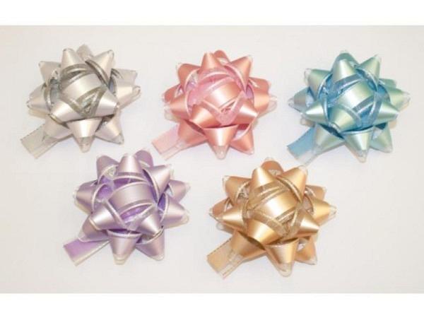 Geschenkmaschen Star Twin Stars Pastell farbig sortiert