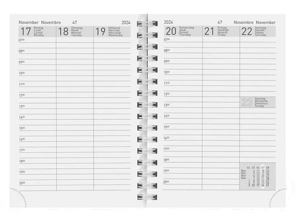 Agenda Biella Rex Wire-O Ersatzeinlage 7 Tage auf 2 Seiten