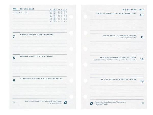 Einlage Succes Junior Jahresinhalt 7 Tage auf 2 Seiten
