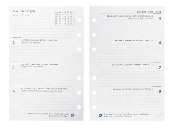 Einlage Succes Senior Jahresinhalt 7 Tage auf 2 Seiten