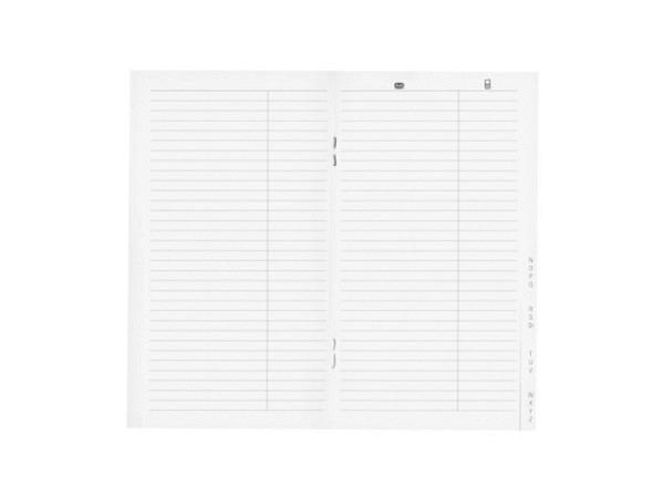 Agenda Biella Planer Luzern Adresseinlage, 8,7x15,3cm