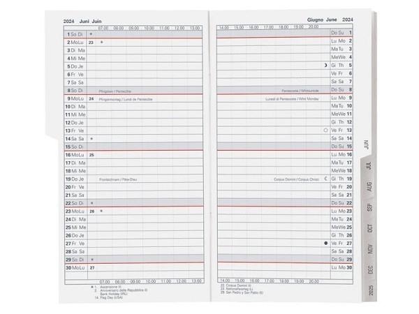 Agenda Biella Planer Luzern Einlage 1 Monat auf 2 Seiten